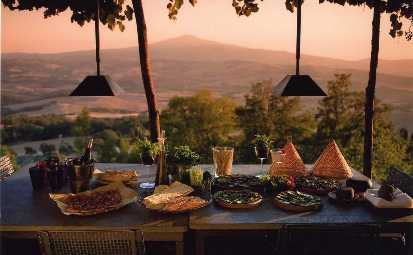 Cooking on vacation: the best delight